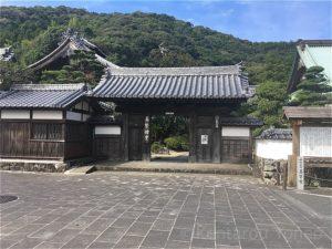 養賢寺の門(拝観不可)