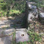 西の丸の門跡(翠明の道につながるところ)