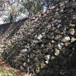 本丸辺りの石垣