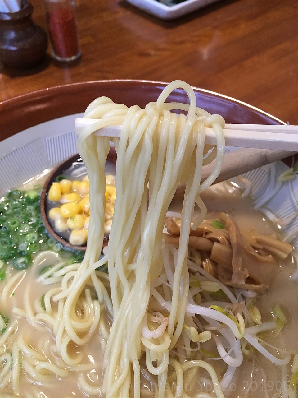 わらじの麺